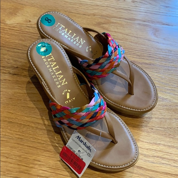 af0490f4029b7 Italian Sandals - Womens Size 8